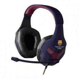 Auriculares Gaming con Micrófono Mars Gaming MHBC/ Jack 3.5/ FC Barcelona