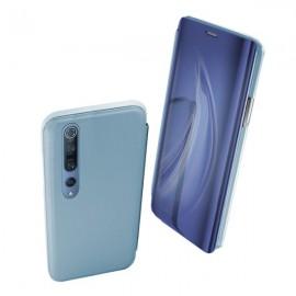 Funda con Tapa Xiaomi Mi Note 10 Clear View (Azul)